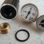 Heating oil tank gauge
