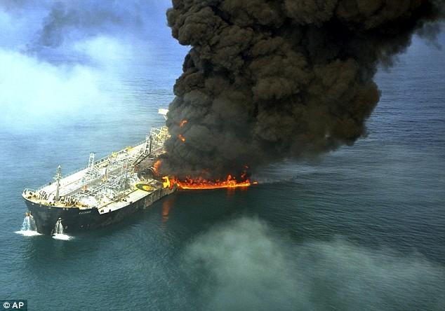 Oil tanker ship: capacity, size