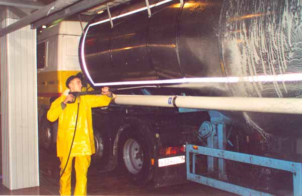 Oil tank cleaning: equipment, procedure
