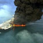 Oil tanker explosion