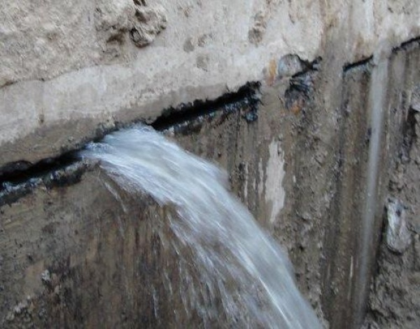 oil tank leak