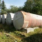 Oil tank abandonment